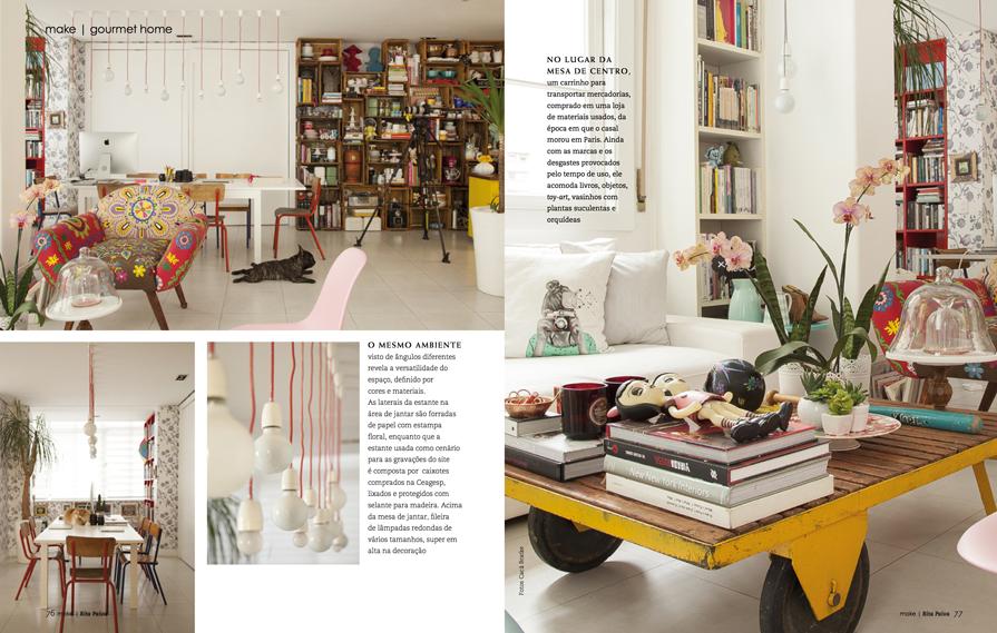 decoracao cozinha loft:Gostaram? Vocês fariam assim ou preferem ambientes mais assépticos e