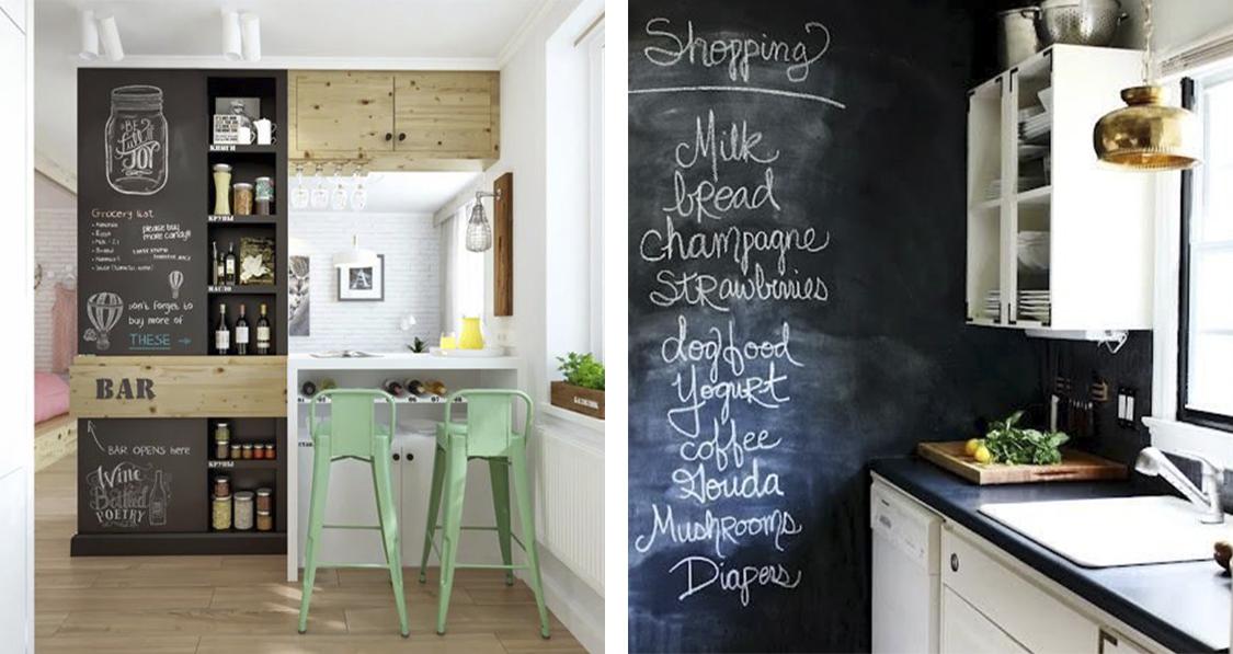 decoracao na cozinha:quadro-negro-em-casa-decoracao-danielle-noce-1