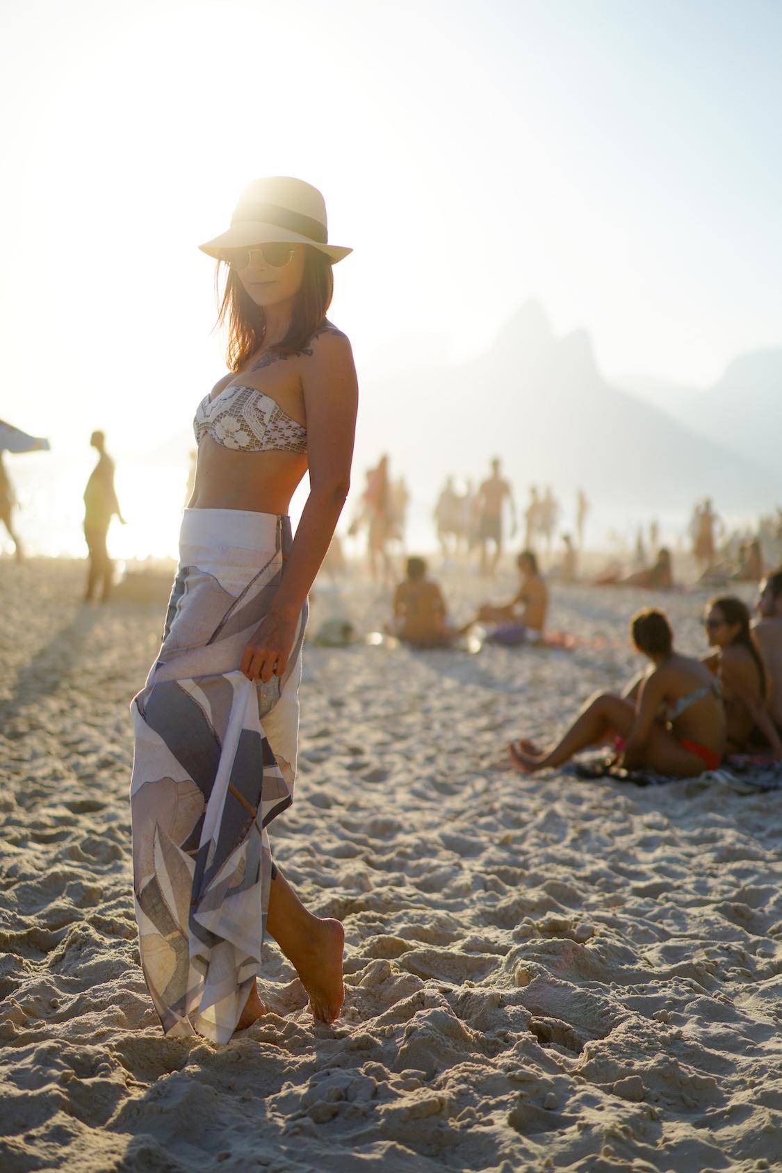 Look Praia Para O 250 Ltimo Dia No Rio Danielle Noce