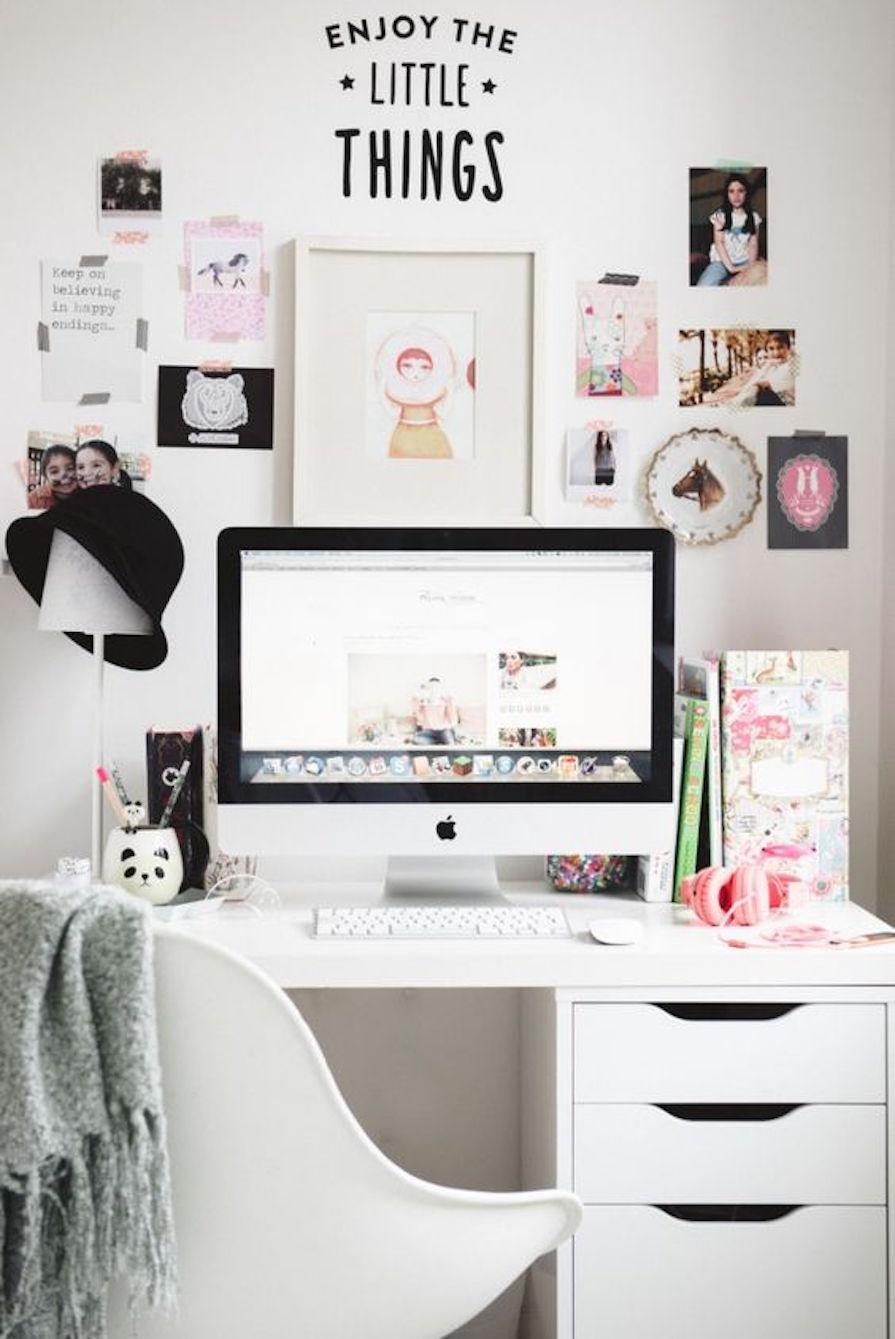 Ideias para escrivaninha no quarto Danielle Noce ~ Quarto Planejado Escrivaninha