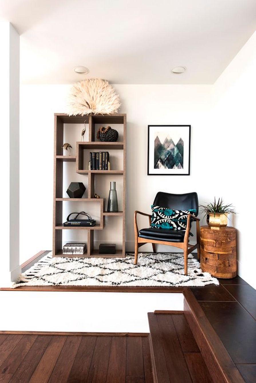 Espa o de leitura danielle noce - Living room idea for small space plan ...